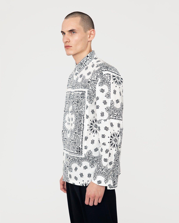 Miyagihidetaka — Bandana Shirt White - Image 2