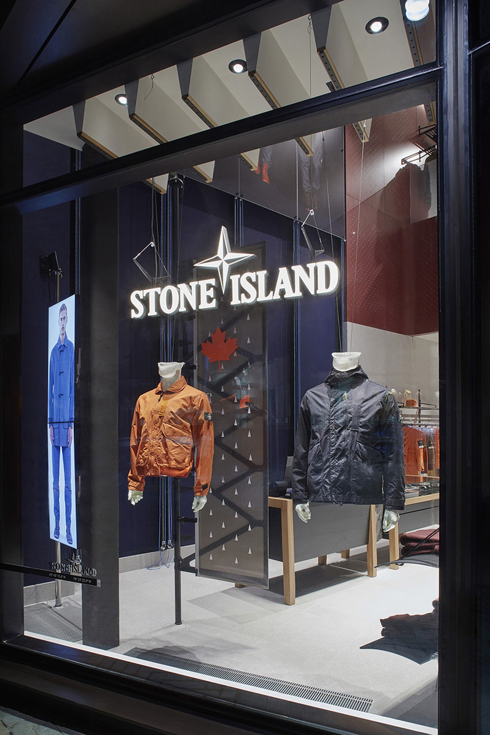 Stone Island Toronto store