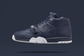 """best loved 3ef04 9c257 A Closer Look at the fragment design x NikeLab Air Trainer 1 SP """"US Open""""  Pack"""