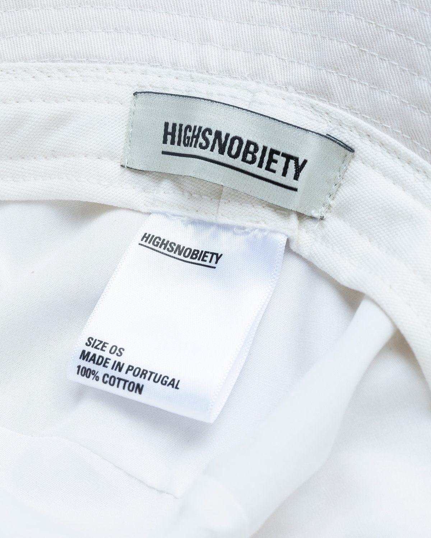 Highsnobiety – Bucket Hat White - Image 5