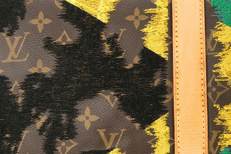 Jamaican Flag Vintage Louis Vuitton Keepall