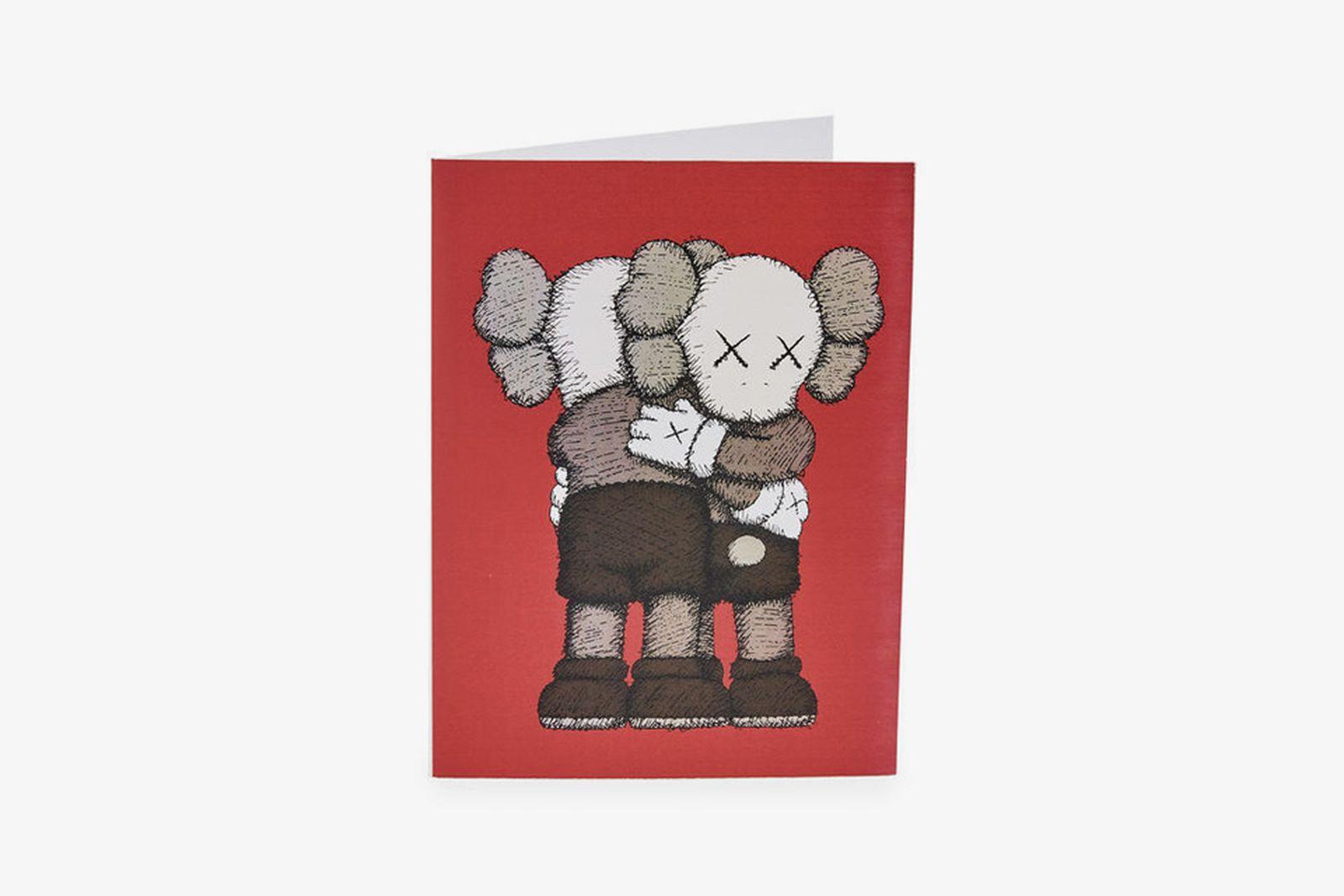 kaws moma holiday card MoMA Design Store holiday season