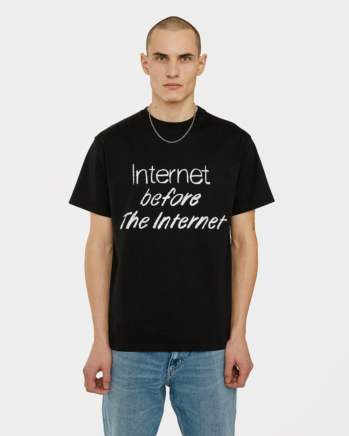 Colette Mon Amour — The Internet Before The Internet T-Shirt Black - Image 2