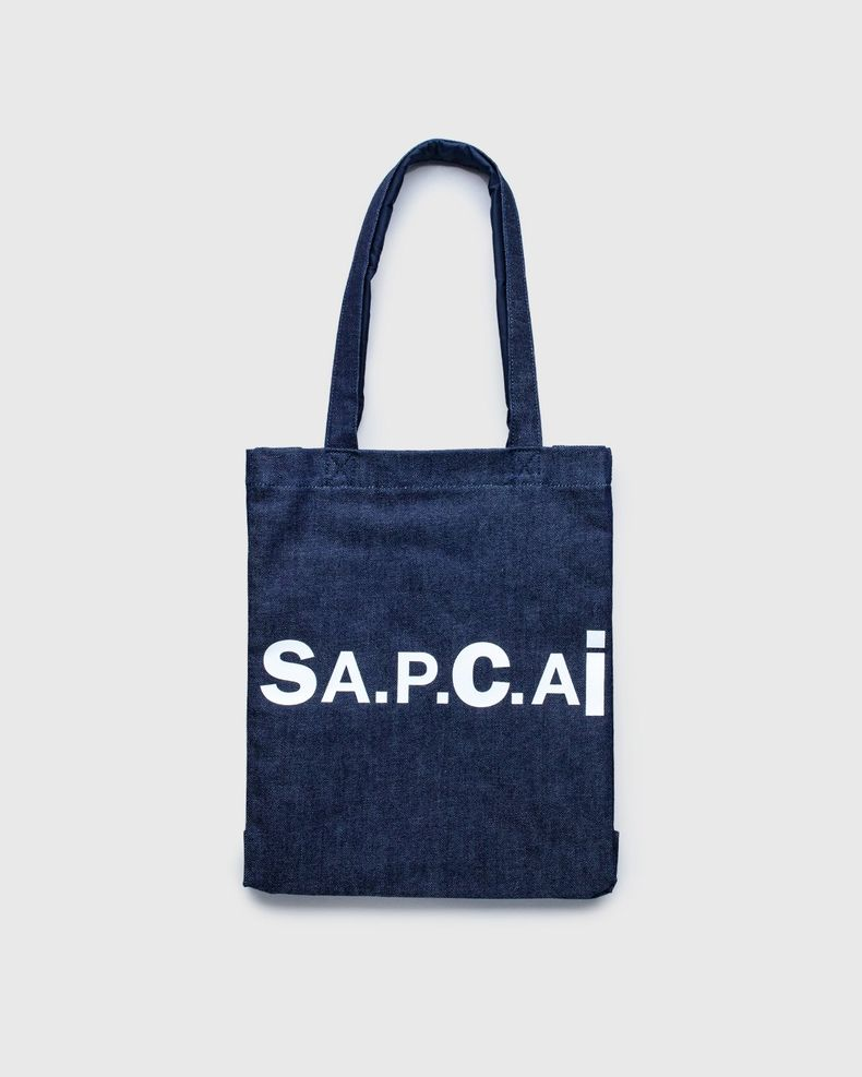 A.P.C. x Sacai — Tote Bag Holly Dark Navy