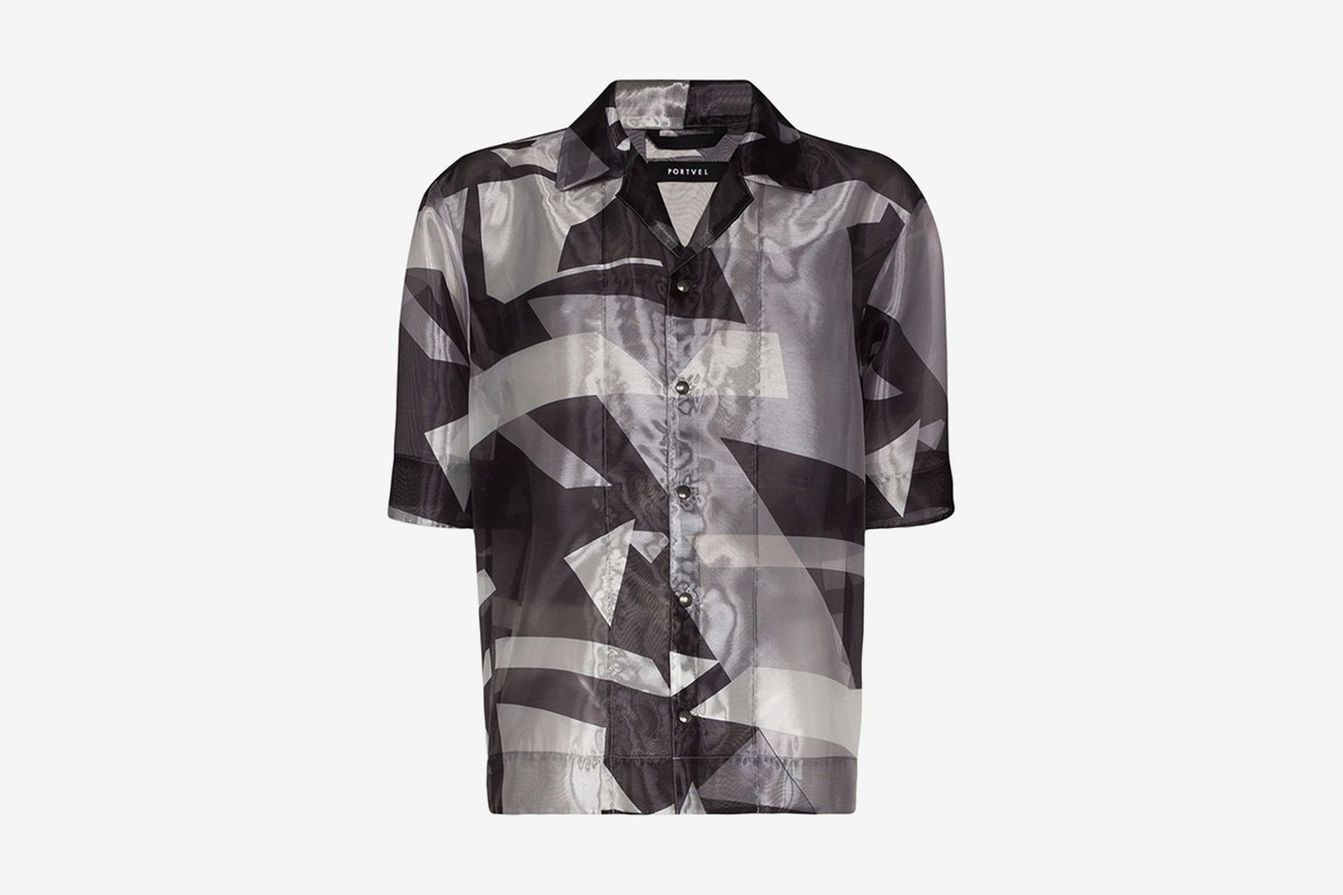 Graphic Sheer Shirt