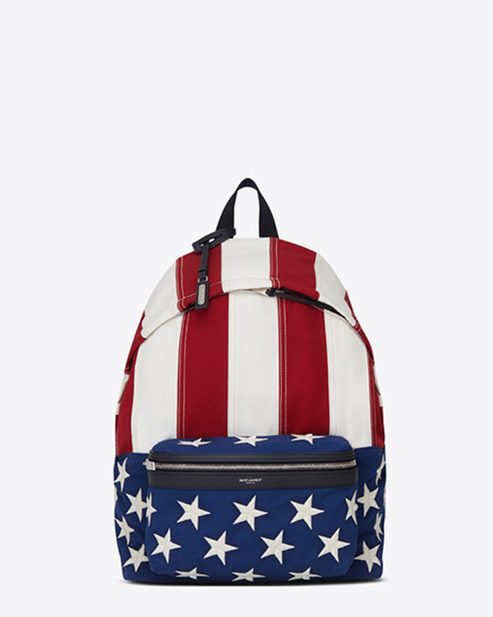 saint laurent american flag capsule