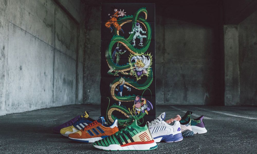 on sale 36408 781e8 Heres a Complete Look at the Dragon Ball Z x adidas Collection