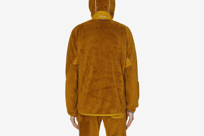 High Loft Fleece Hooded Jacket