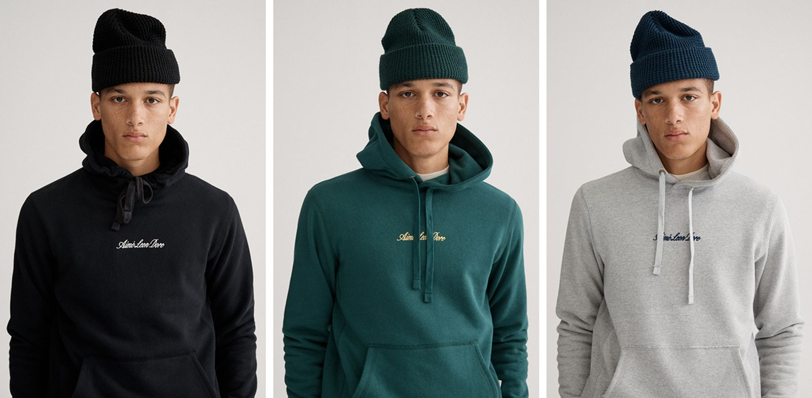 Aimé Leon Dore FW19 Uniform Program hoodies beanies