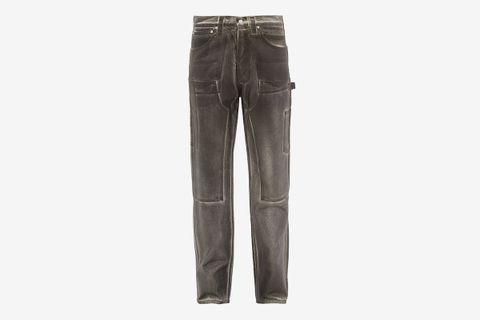 Utility Panelled Jeans