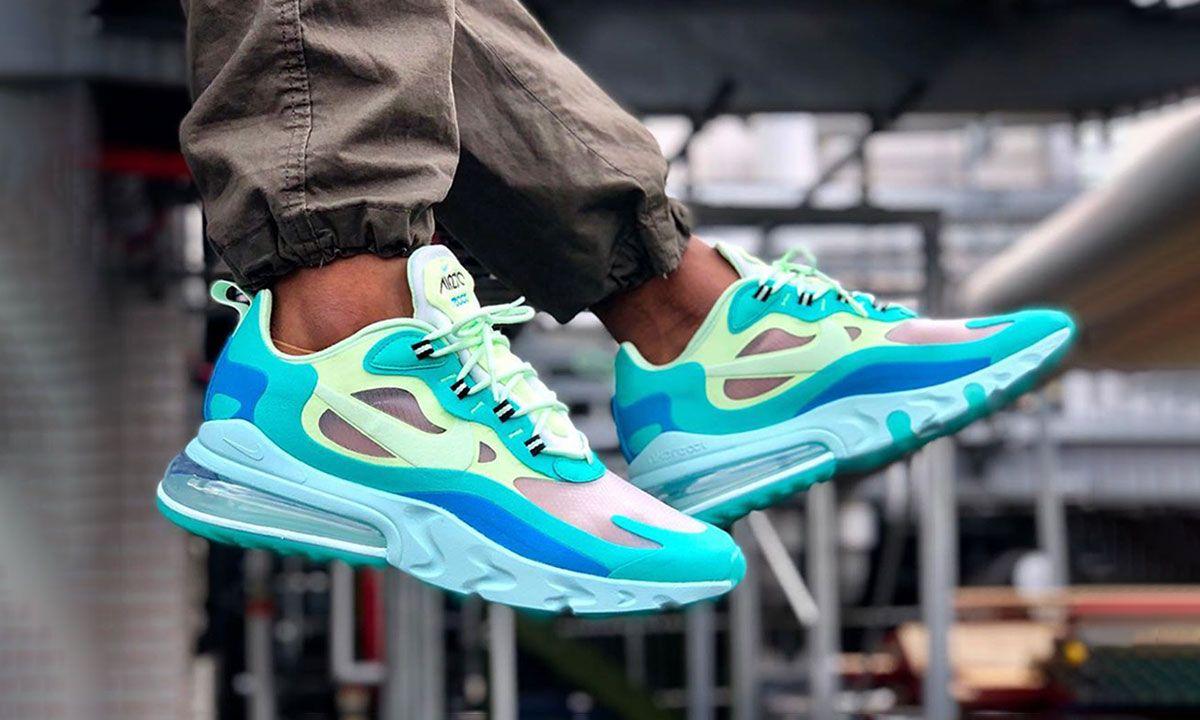 completamente lb Escarpado  Nike Air Max 270 React & More Best Instagram Sneaker Photos