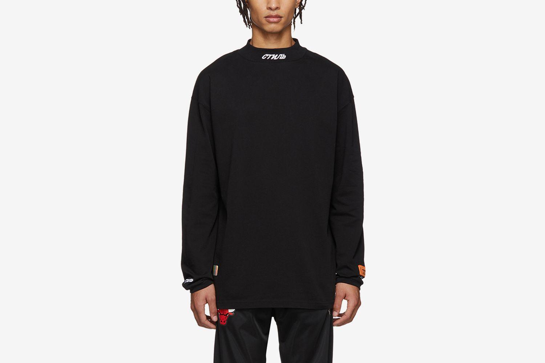 'Style' Mock Neck T-Shirt