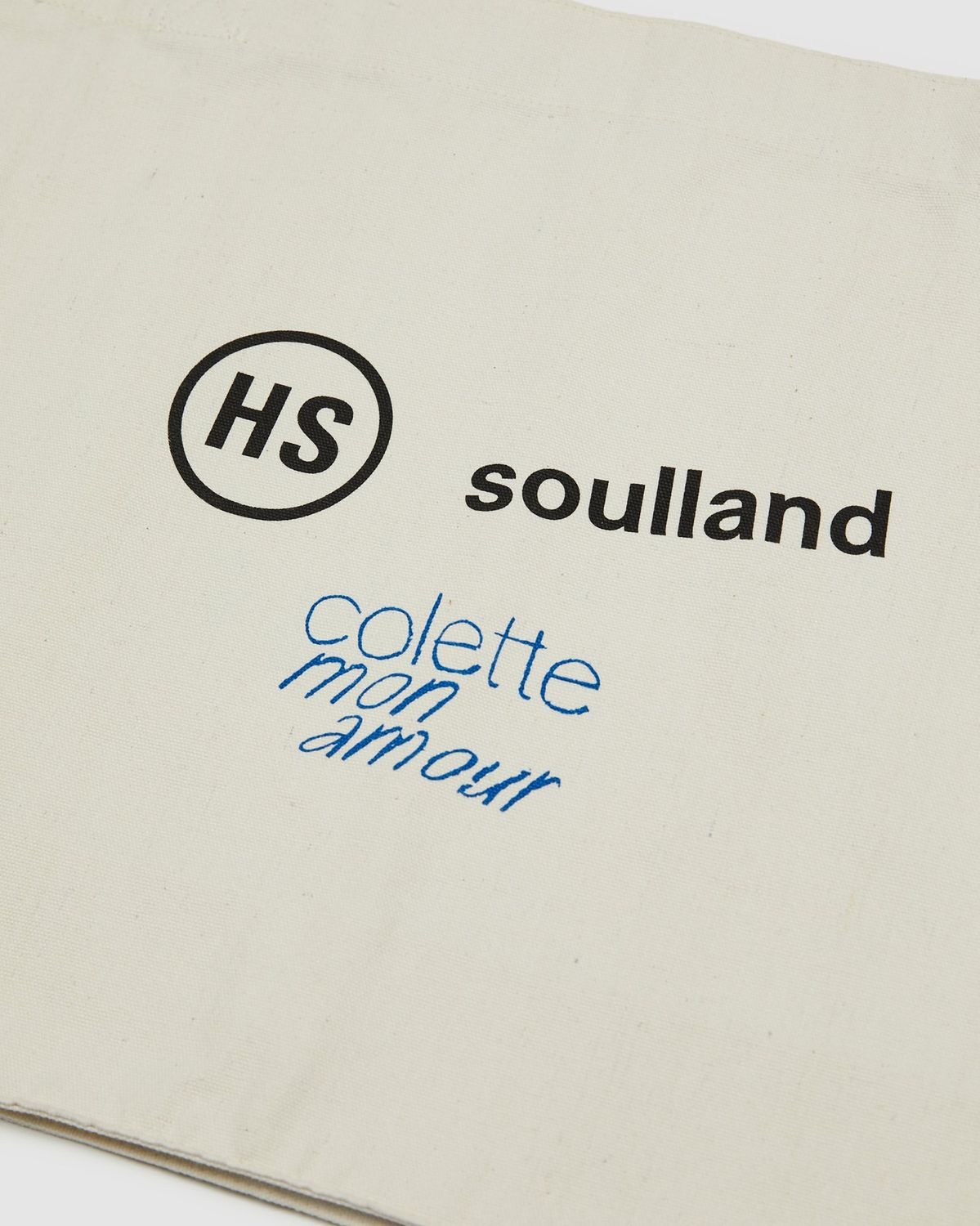 Colette Mon Amour x Soulland -  Snoopy Comics White Totebag - Image 3
