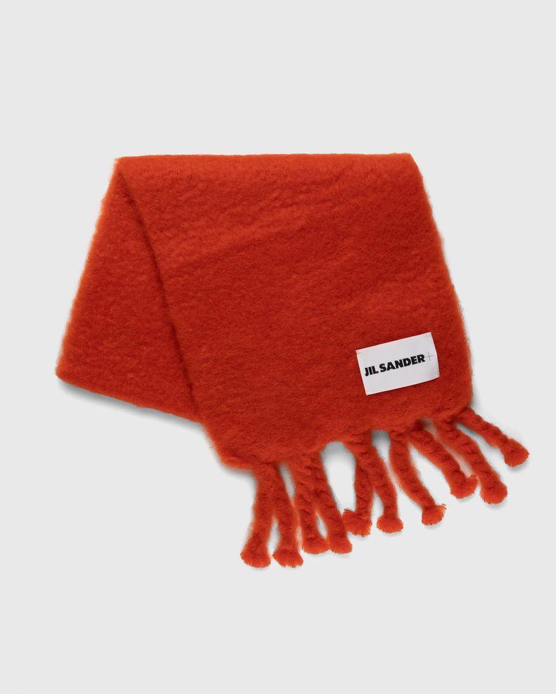 Jil Sander – Woven Scarf Red