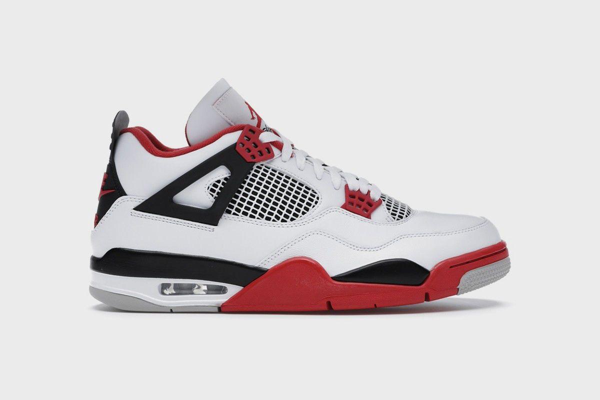Air Jordan 4 Fire Red image