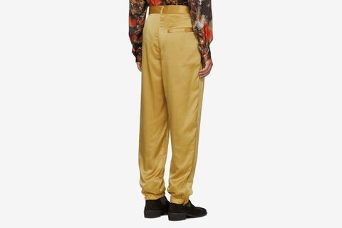 Satin Track Pants