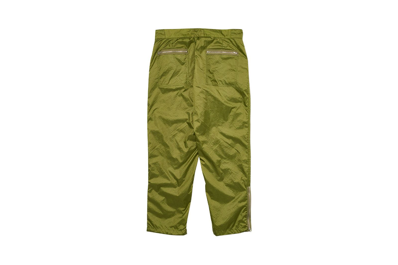 Palace 2019 Autumn Pant Flight green back fw19