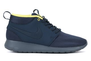 half off a3feb 52cdf Nike Roshe Run Mid Black and Armory Navy • Highsnobiety