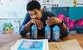 Hebru Brantley on His Creative Process & How Bombay Sapphire Helped Jumpstart His Art Career