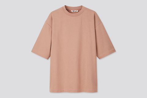 Airism Cotton Crew Neck Oversize T-Shirt