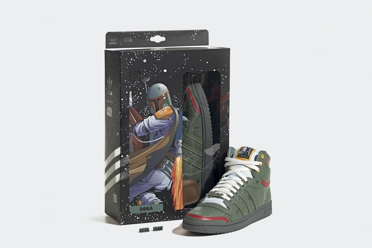 boba fett star wars adidas top ten hi product shot