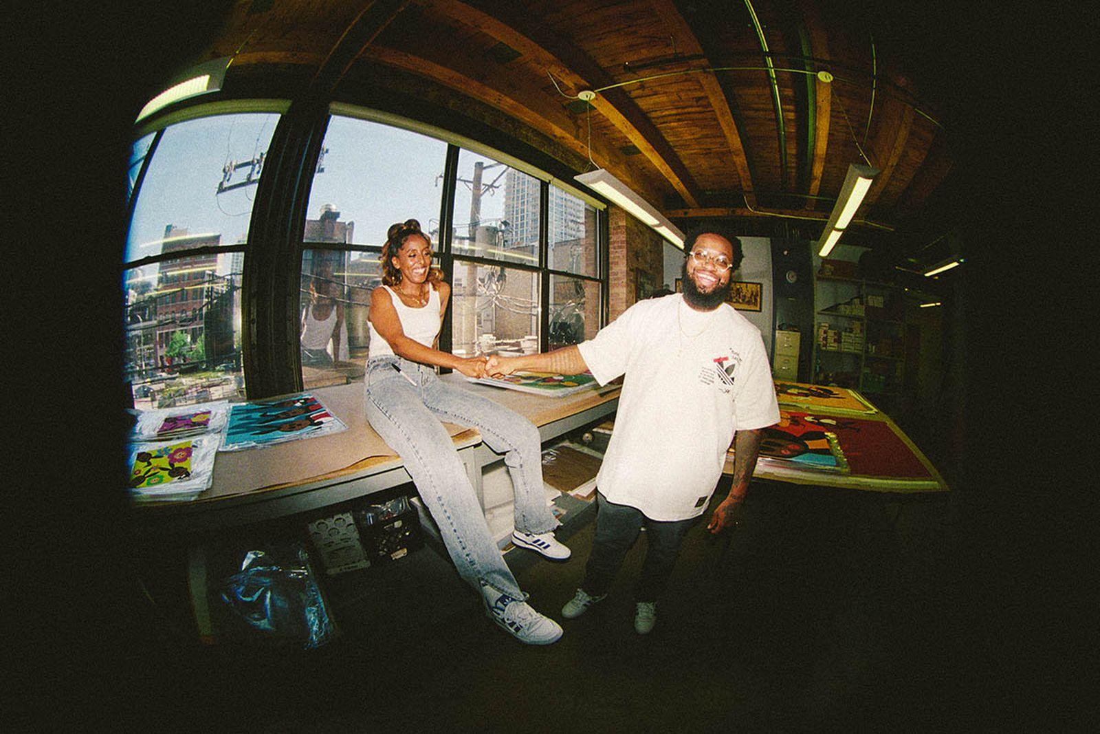 AZ and Rello Jones.