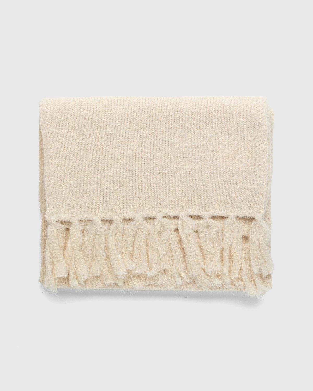 Our Legacy – Knitted Scarf Camel - Image 2