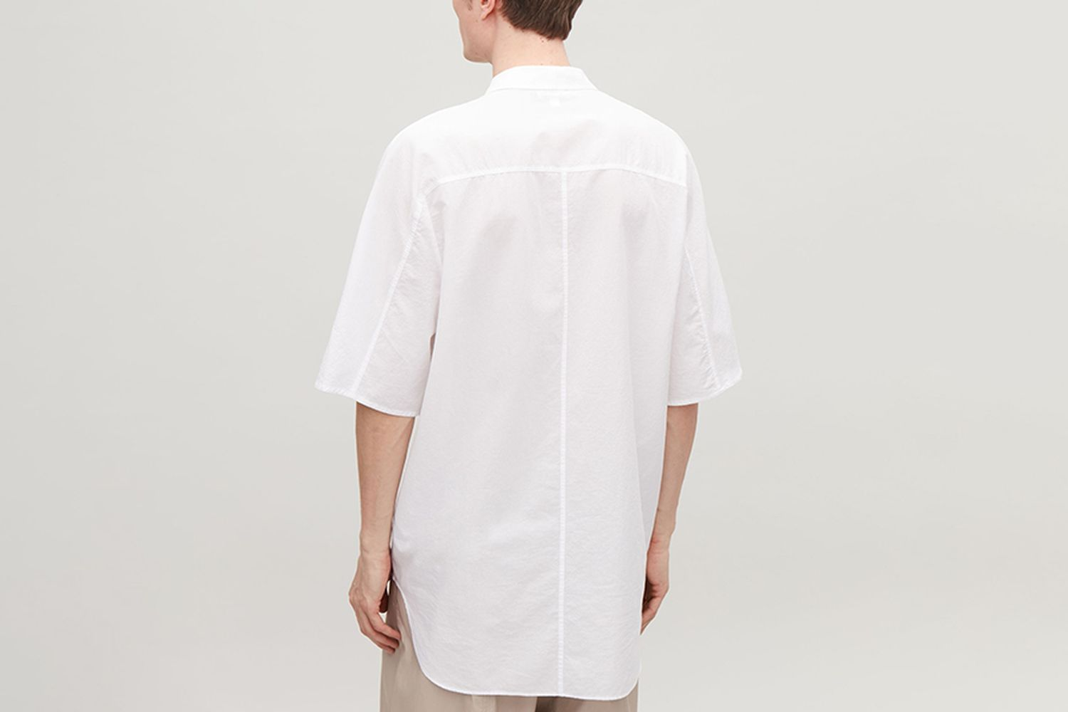 Oversized Light Cotton Shirt
