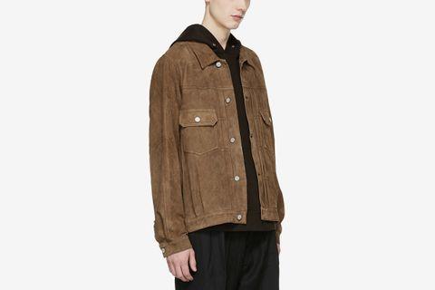 Brown Jumbo 101 Leather Jacket