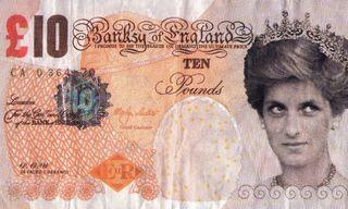 Banksy Donates His Fake Banknote Artwork to the British Museum