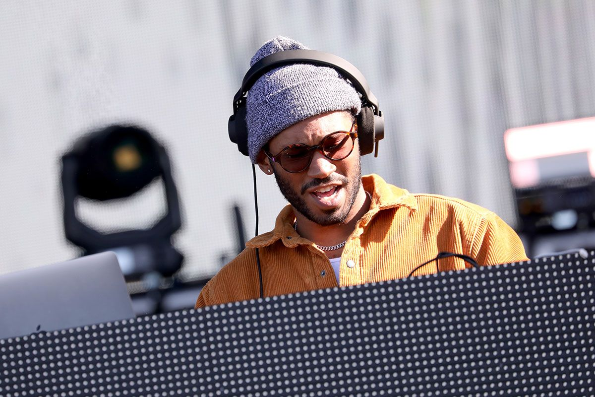 Kaytranada performs at Something in the Water