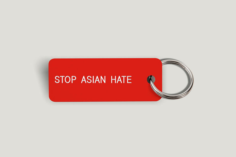 Various Keytag (#StopAsianHate)
