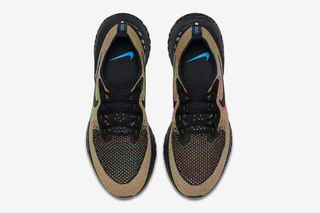 """8ca815ed7c6 Nike s Epic React Flyknit Surfaces in New """"Multicolor"""" Colorway"""