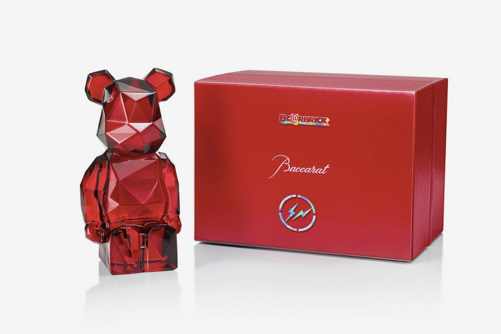fragment design Baccarat Be@rbrick red