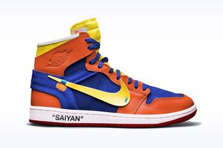 57aaf102433 These 'Dragon Ball Z' x Nike Concept Sneakers Are Incredible