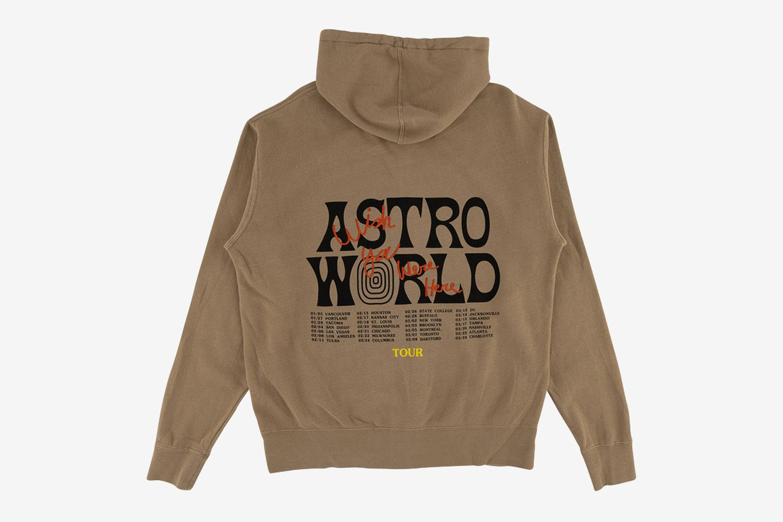 Astroworld Tour Zip Hoodie