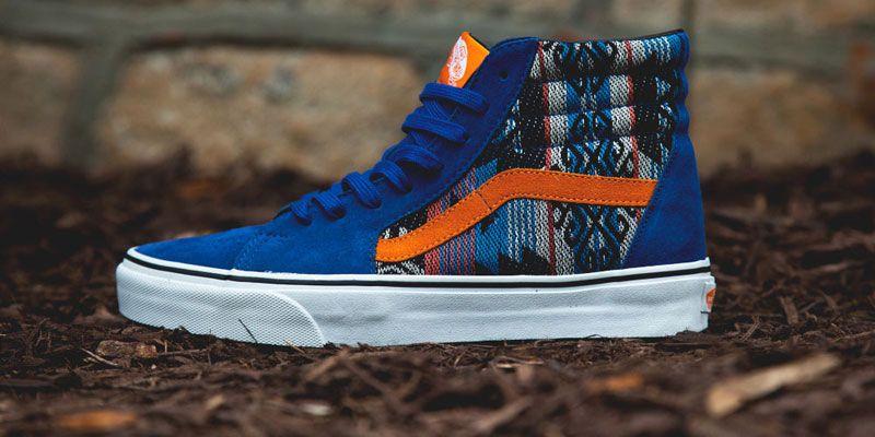 9f19be43f0b7ff Vans Sk8-Hi  True Blue Inca  Sneakers - Highsnobiety