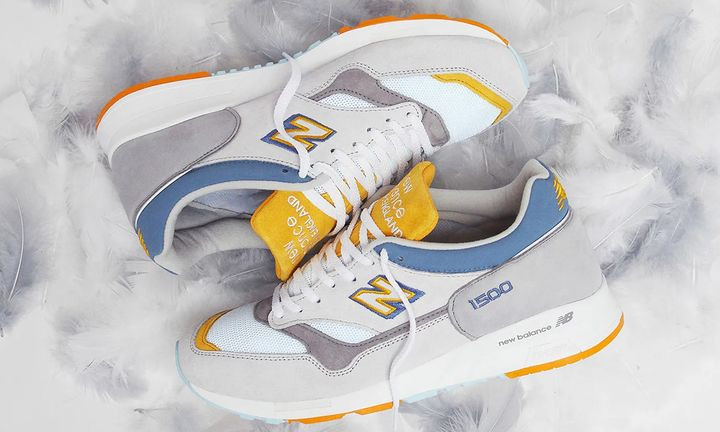 END. x New Balance 1500 grey heron colorway product shot