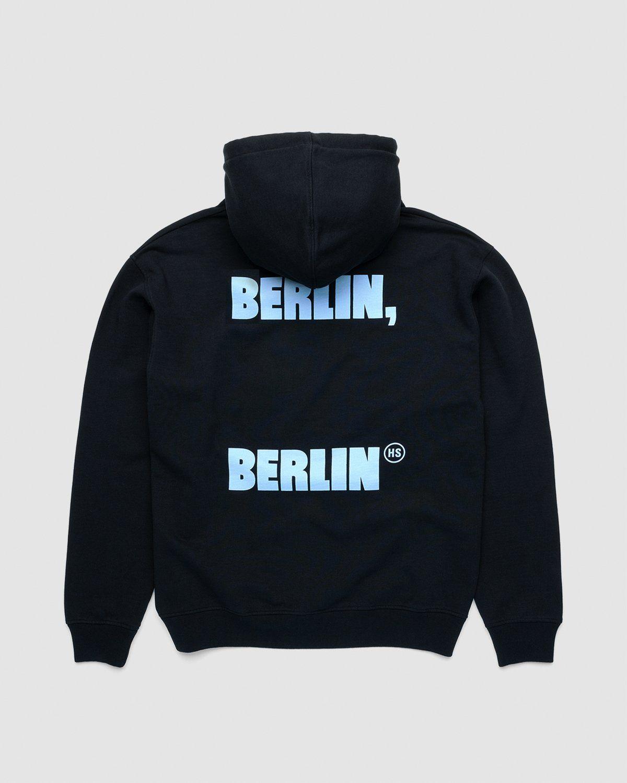 Highsnobiety x Berlin Berlin 2 – Hoodie Black - Image 1