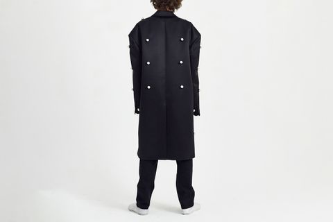 Coat With All Over Balls
