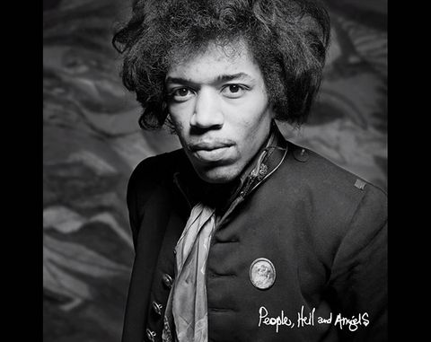 "New Jimi Hendrix Music and Album - ""People, Hell & Angels"""