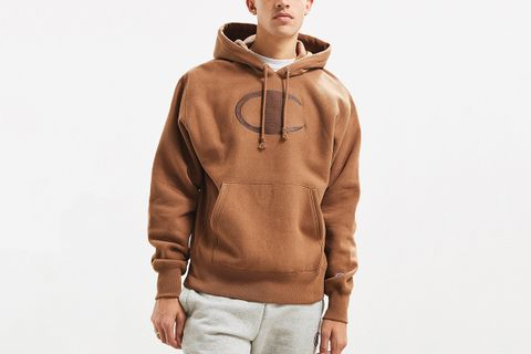 great discount beautiful style good texture Champion Big C Reverse Weave Hoodie