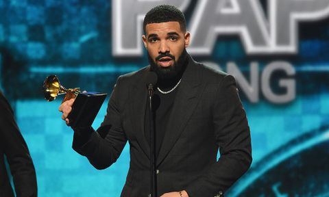 drake best rap song 2019 grammy speech 2019 Grammy Awards God's Plan