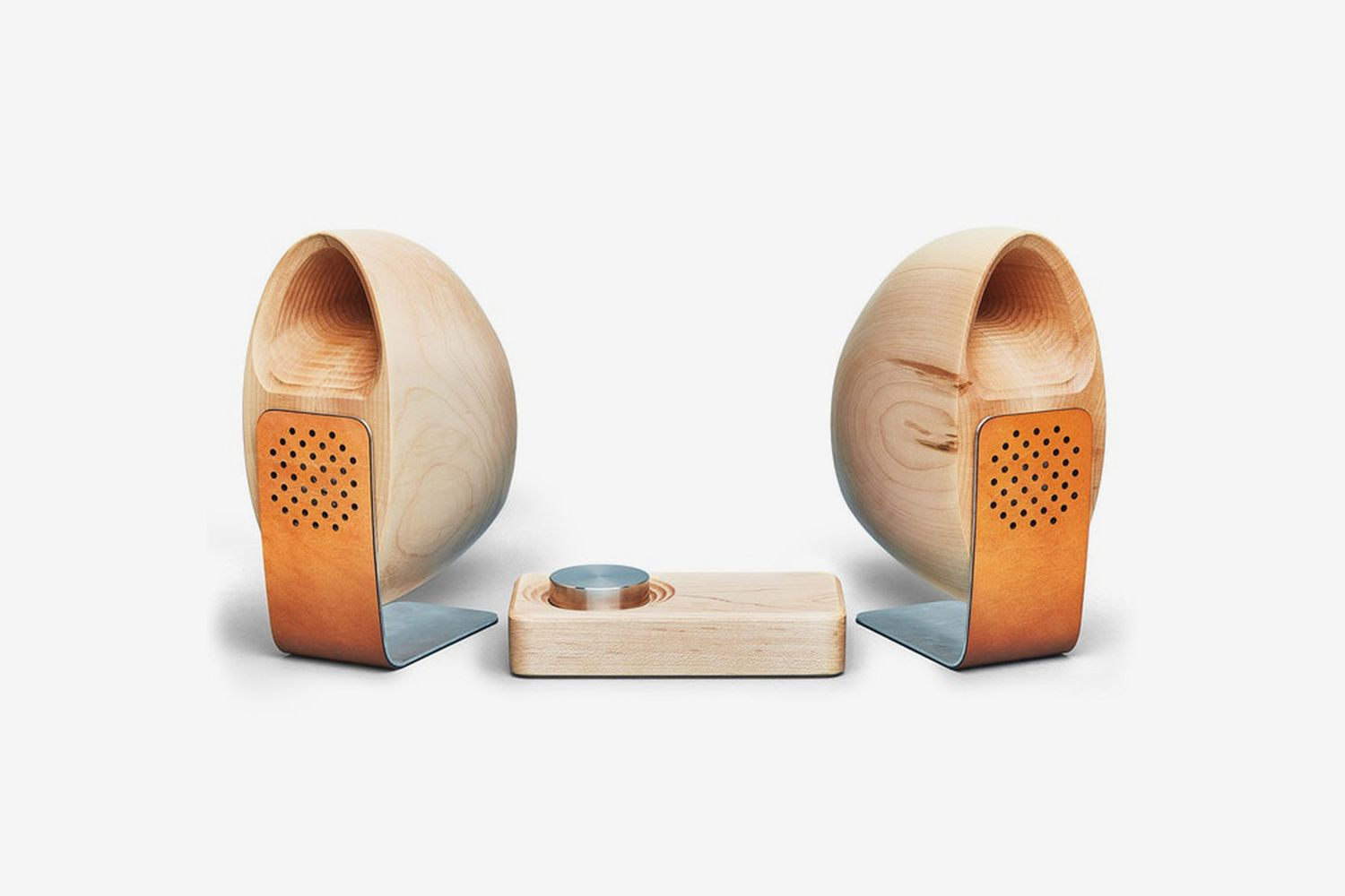 Maple Speakers and Amp