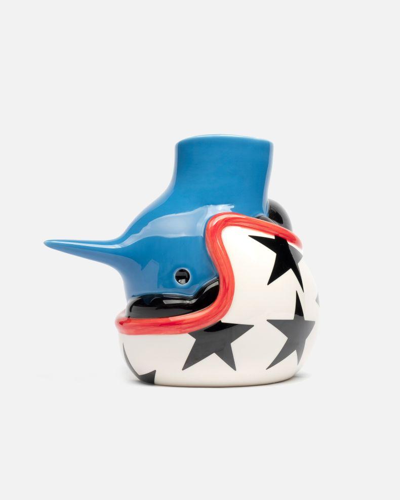 The Upside Down Face Vase Helmet