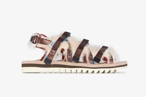 OG-299 Faux Fur Sandals