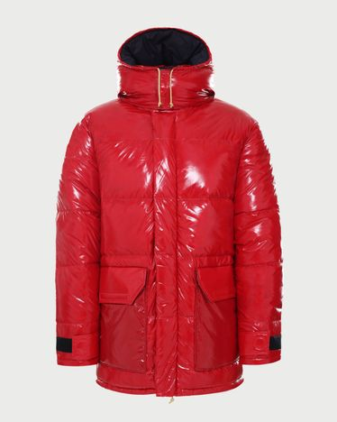 The North Face Brown Label - Brown Label Ripstop Down Parka Red Unisex