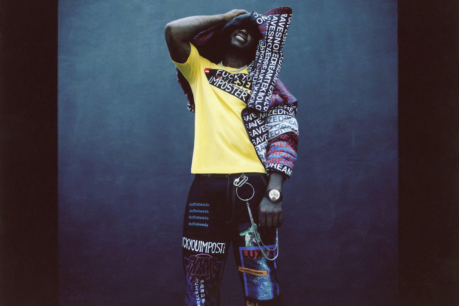 diesel fw18 haute couture capsule Bella Thorne Gucci Mane nicki minaj