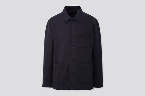 Washed Jersey Work Jacket