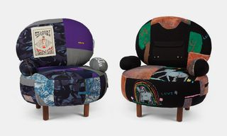 This Custom Furniture Is Made From Raf Simons, OFF-WHITE & Margiela Pieces